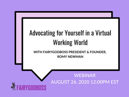 Private Event: Advocating For Yourself in a Virtual Working World with Squarespace