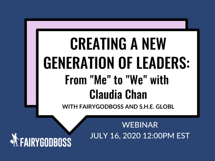 "Creating A New Generation of Leaders: From ""Me"" to ""We"" with Claudia Chan"