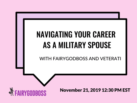 Navigating Your Career As A Military Spouse