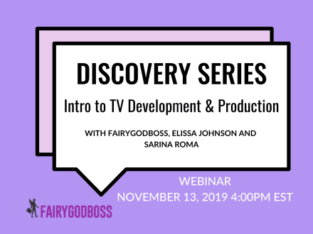 Discovery Series: Intro to TV Development & Production
