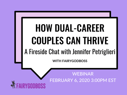 How Dual-Career Couples Can Thrive: A Fireside Chat with Jennifer Petriglieri