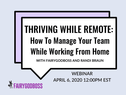Thriving While Remote: How to Manage Your Team While Working From Home