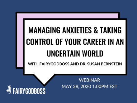 Managing Anxieties & Taking Control Of Your Career In An Uncertain World