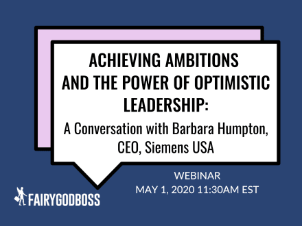 Achieving Ambitions: A Conversation with Barbara Humpton, CEO, Siemens USA