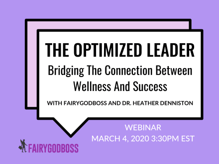 The Optimized Leader: Bridging The Connection Between Wellness And Success