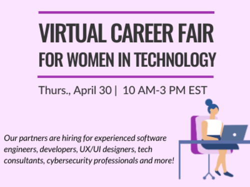Virtual Career Fair for Women in Technology