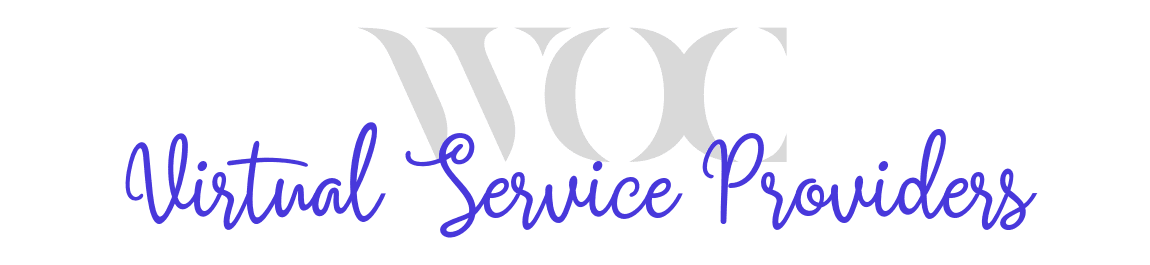 WOC Virtual Service Providers header image